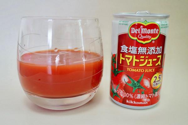 食塩無添加トマトジュース(デルモンテ)