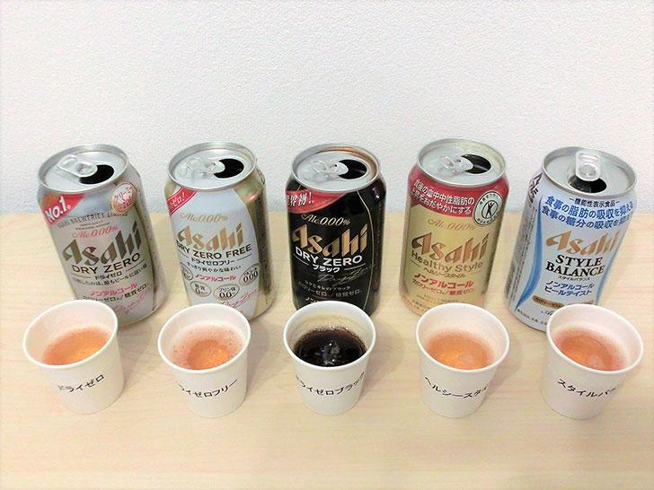 アサヒのノンアルコールビール