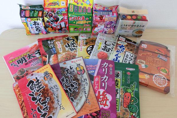 【お弁当の必需品】ふりかけ34種類食べ比べとおすすめランキング