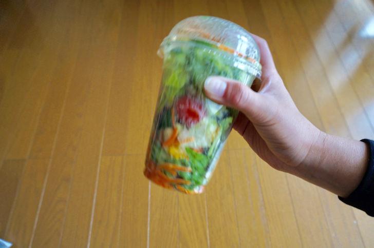 コストコのフードコートメニュー(ガーデンサラダ)