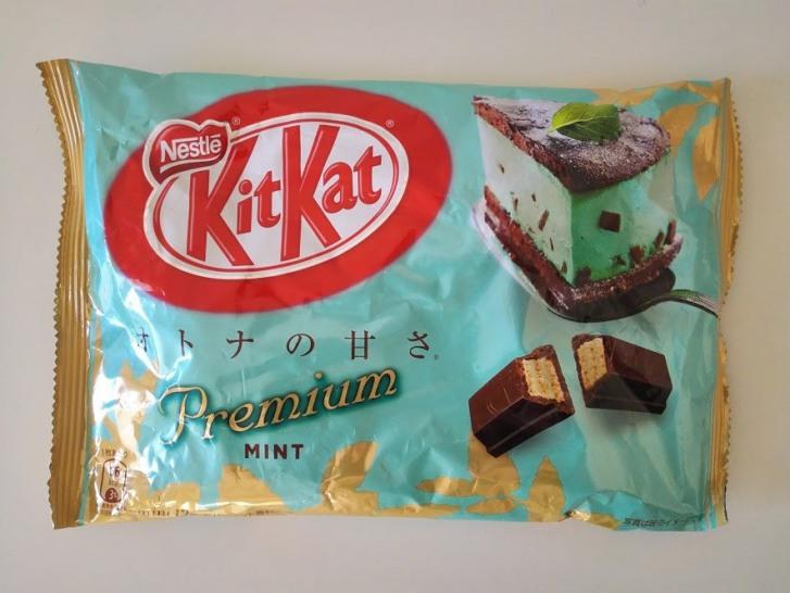 チョコミントキットカット