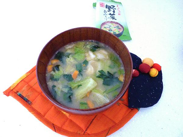 野菜のおみそ汁