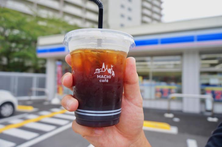 コンビニのアイスコーヒー(ローソン)