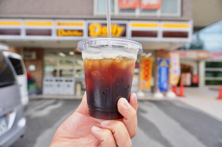 コンビニのアイスコーヒー(デイリーヤマザキ)
