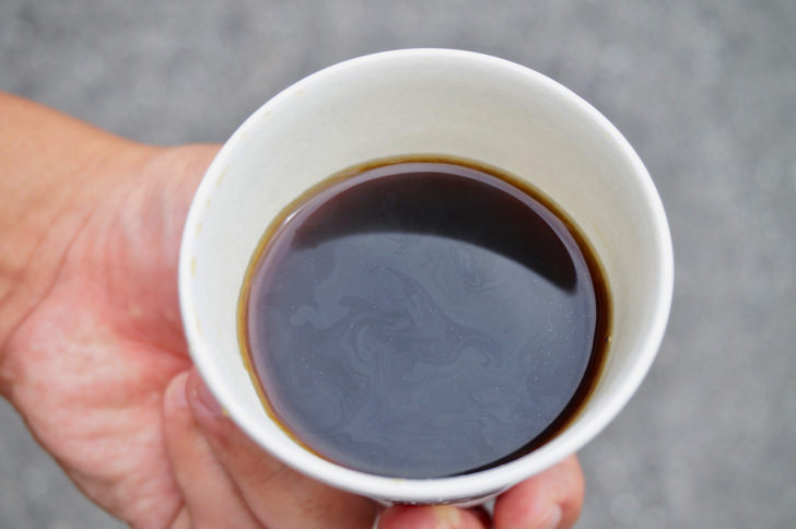 コンビニのホットコーヒー(デイリーヤマザキ)