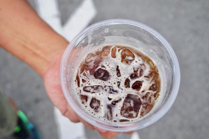コンビニのアイスコーヒー(ファミリーマート)