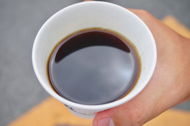 コンビニのホットコーヒー(セブンイレブン)