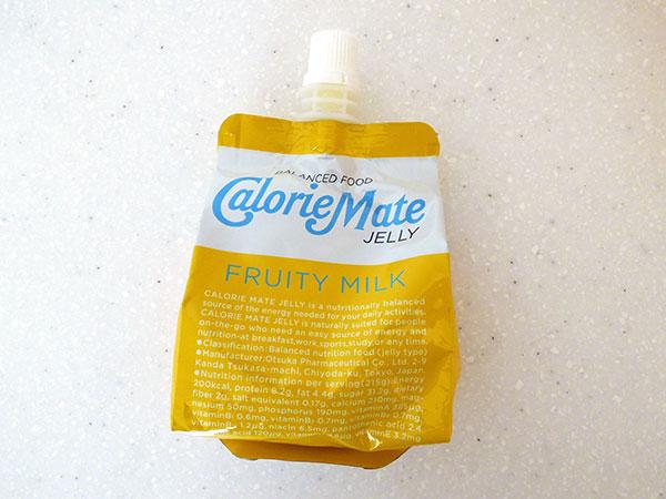 カロリーメイトフルーティミルク
