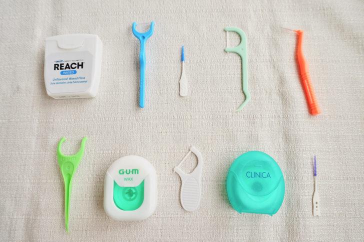 歯間ブラシ・歯間クリーナーの集合写真