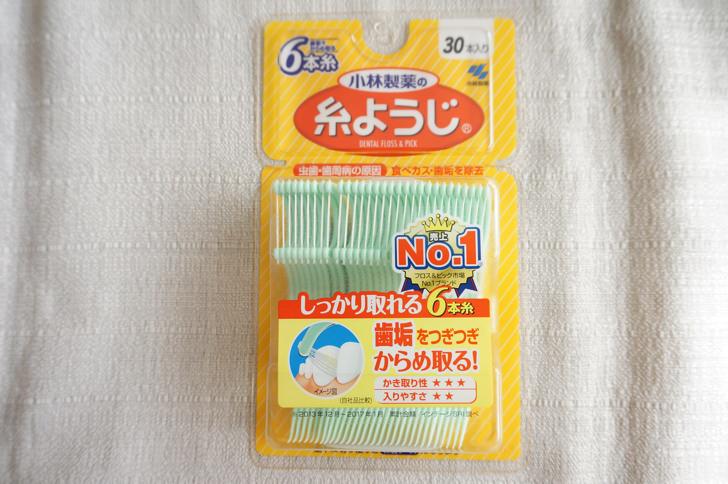 糸ようじ 6本糸(小林製薬)