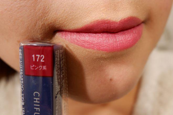 172唇に塗布