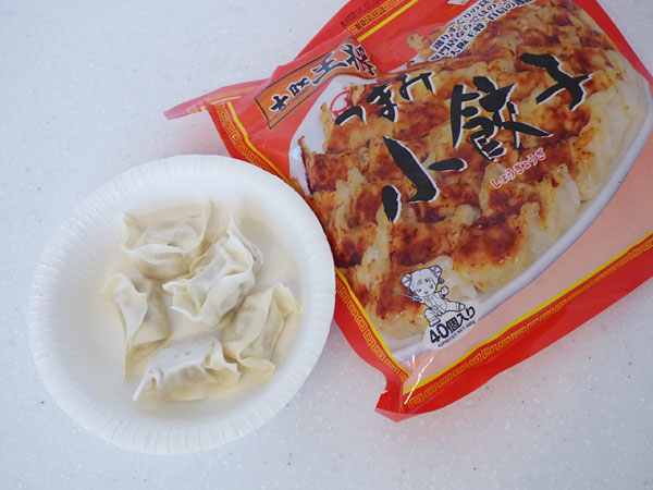 3位:大阪王将 つまみ小餃子