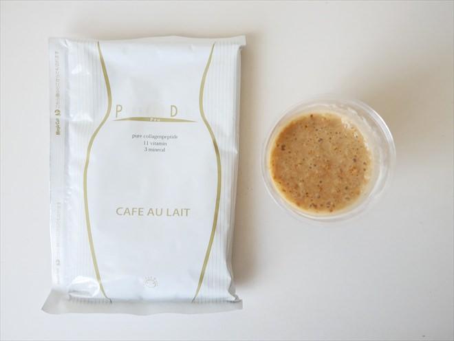 美容液ダイエットシェイクのカフェラテ味2