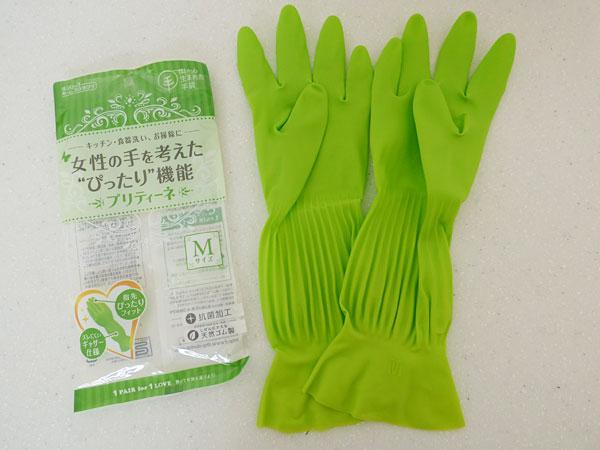 樹から生まれた手袋 女性の手を考えたぴったり機能 プリティーネM