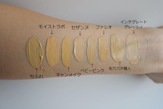 全8種類色味比較