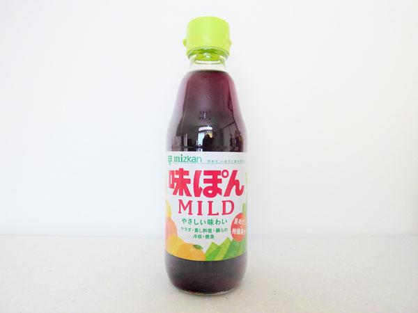 ミツカン 味ぽんMILD