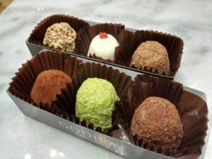 「アイスクリームトリュフ」を食べてみた