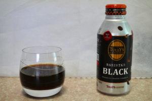 ブラックの缶コーヒー