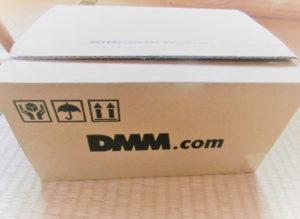 DMM.com コミックレンタルの外箱