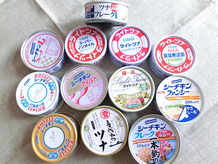 ツナ缶おすすめ比較