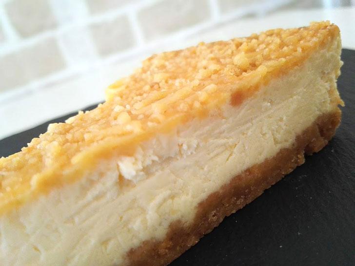 チーズケーキ2種食べ比べてみて