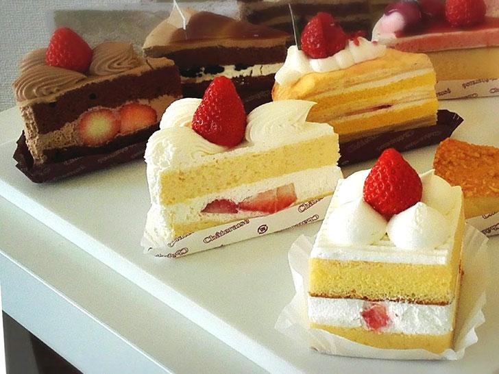 苺のショートケーキ3種食べ比べてみて