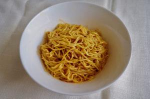 無印良品の麺類(冷やし担々麺)