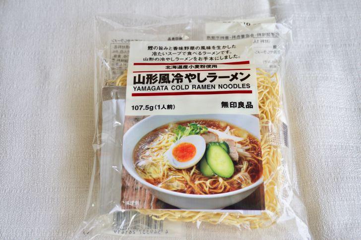 無印良品の麺類(山形風冷やしラーメン)