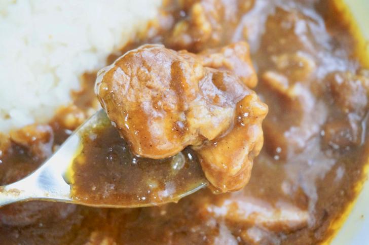 高級カレー(炭火焼肉たむらのお肉が入ったカレー)