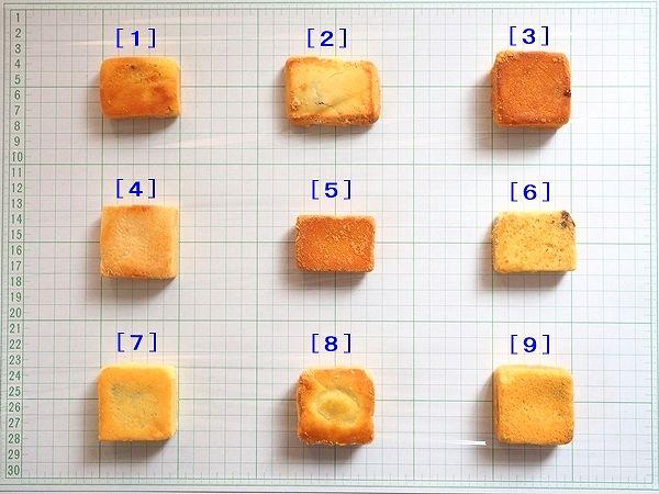 台北のパイナップルケーキの食べ比べ