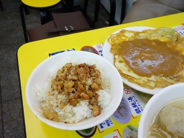 美食區の料理