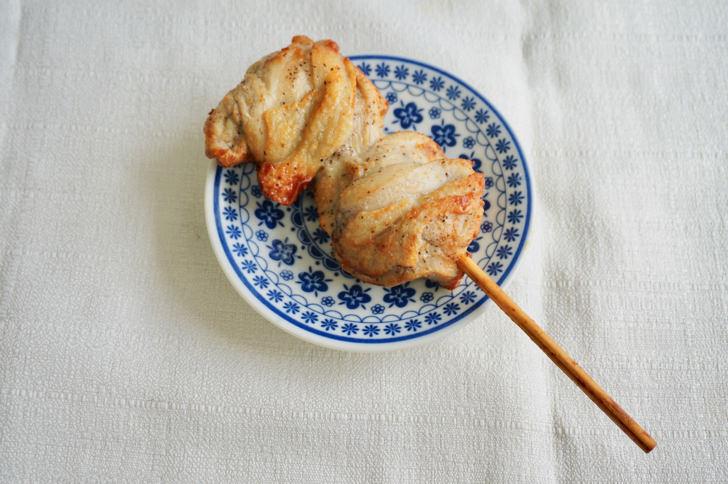 コンビニ焼き鳥(ミニストップの塩だれチキン串)