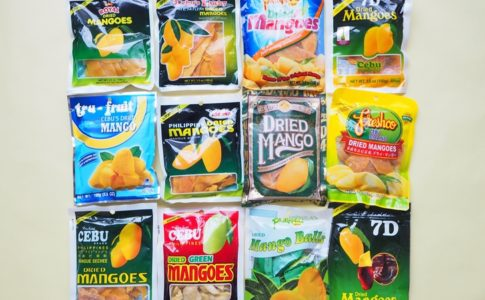 フィリピンおみやげの定番【セブドライマンゴーおすすめ比較】7Dほか12種類を食べ比べ