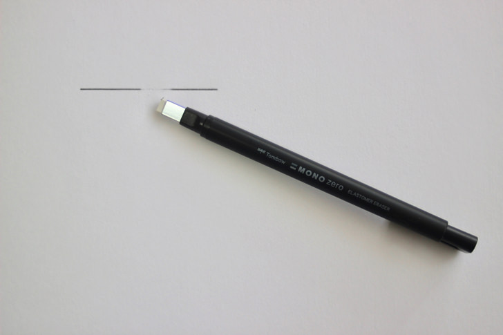 モノゼロ メタル角型ブラック・EH-KUS11(トンボ鉛筆)