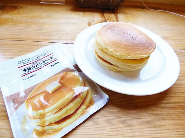 米粉のパンケーキ(無印良品)