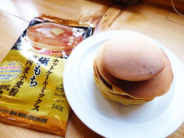 ホットケーキミックス「極もち」(日清)