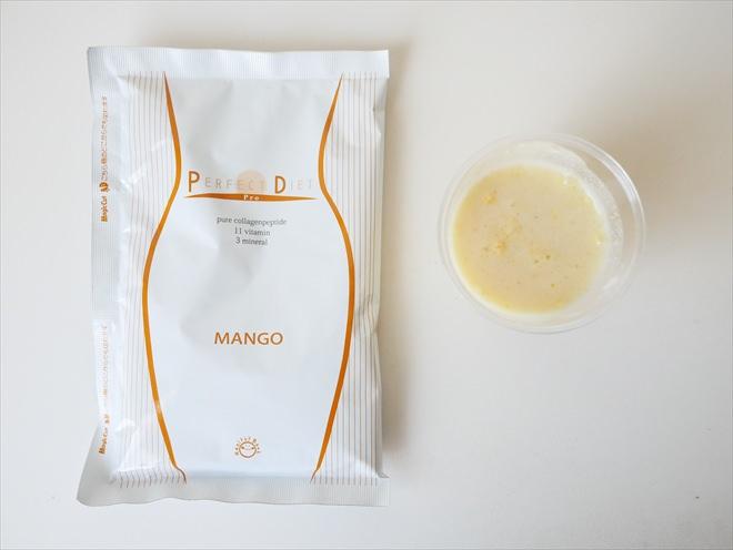 美容液ダイエットシェイクのマンゴー味2