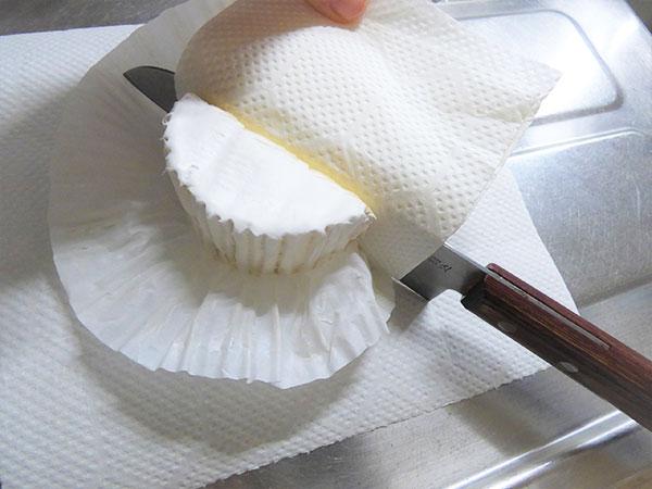 チーズ・バターを切る