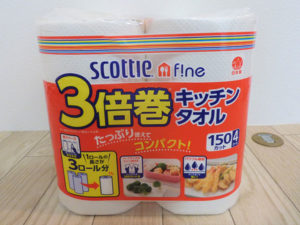 スコッティファイン 3倍巻キッチンタオル