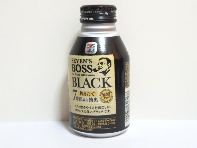 ブラックコーヒーセブンイレブンBOSS裏面