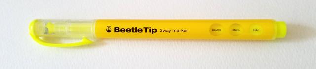 蛍光ペンビートルキャップあり