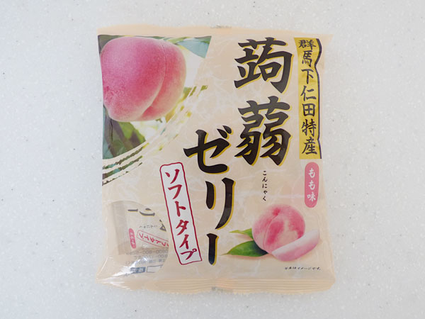 下仁田物産 蒟蒻ゼリー 桃味
