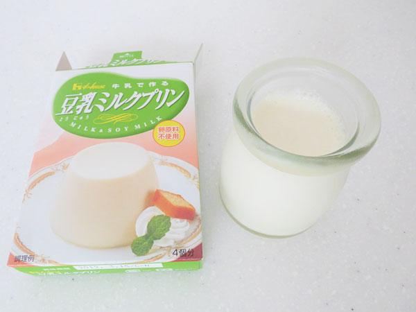 第11位:豆乳ミルクプリン