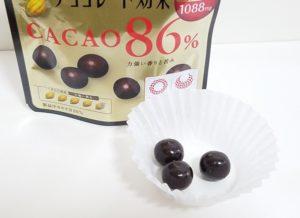 チョコレート効果86%中身
