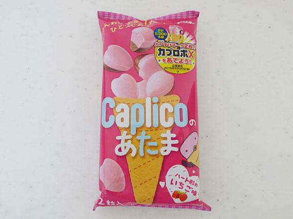 グリコ カプリコのあたま いちご味