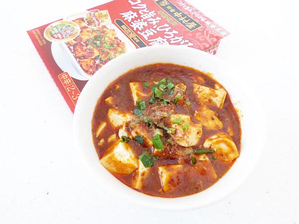 本格四川 コクと旨味、ひろがる麻婆豆腐