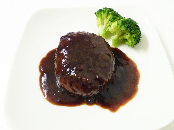 おいしい惣菜 肉汁あふれる鉄板焼きビーフハンバーグ