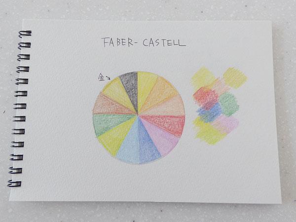 ファーバーカステル 油性色鉛筆 平缶12色