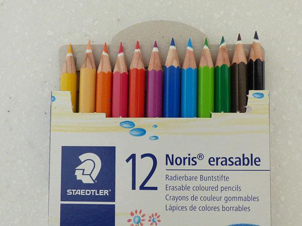 ステッドラー リスクラブ 消せる色鉛筆12色