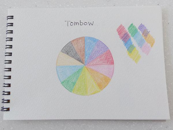 トンボ鉛筆 色鉛筆 12色